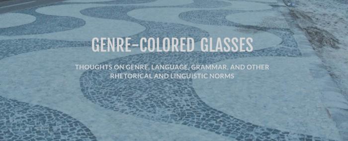 Genre-colored glasses
